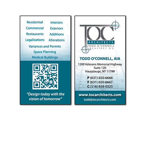 Professional business card design in long island new york reheart Image collections
